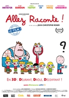 Allez raconte! - Belgian Movie Poster (xs thumbnail)