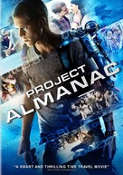 Project Almanac - DVD cover (xs thumbnail)