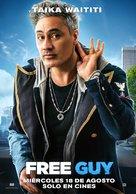 Free Guy - Spanish Movie Poster (xs thumbnail)