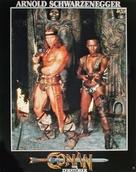 Conan The Destroyer - German Movie Poster (xs thumbnail)