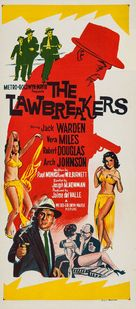 The Lawbreakers - Australian Movie Poster (xs thumbnail)