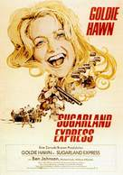 The Sugarland Express - German Movie Poster (xs thumbnail)