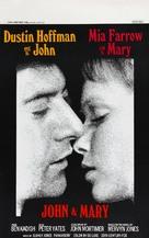 John and Mary - Belgian Movie Poster (xs thumbnail)
