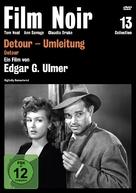 Detour - German DVD cover (xs thumbnail)