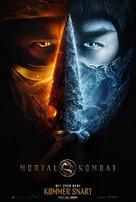 Mortal Kombat - Danish Movie Poster (xs thumbnail)