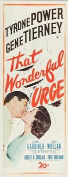 That Wonderful Urge - Movie Poster (xs thumbnail)