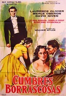 Wuthering Heights - Spanish Movie Poster (xs thumbnail)