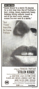 Baisers volés - Australian Movie Poster (xs thumbnail)