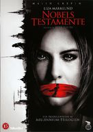 Nobels testamente - Danish DVD cover (xs thumbnail)