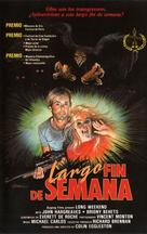 Long Weekend - Spanish VHS cover (xs thumbnail)