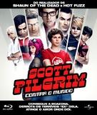 Scott Pilgrim vs. the World - Portuguese Blu-Ray cover (xs thumbnail)
