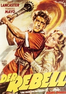 The Flame and the Arrow - German Movie Poster (xs thumbnail)