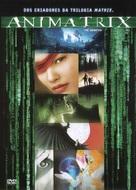 The Animatrix - Brazilian DVD cover (xs thumbnail)