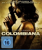 Colombiana - German Blu-Ray cover (xs thumbnail)