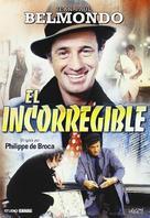 L'incorrigible - Spanish DVD cover (xs thumbnail)