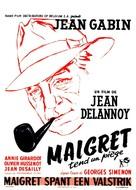 Maigret tend un piège - Belgian Movie Poster (xs thumbnail)