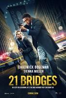 21 Bridges - Canadian Movie Poster (xs thumbnail)