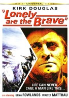 Lonely Are the Brave - DVD cover (xs thumbnail)