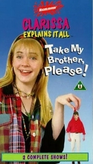 """Clarissa Explains It All"" - British VHS movie cover (xs thumbnail)"