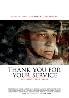 Thank You for Your Service - Dutch Movie Poster (xs thumbnail)