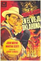 In Old Oklahoma - Spanish Movie Poster (xs thumbnail)