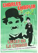 City Lights - Spanish Movie Poster (xs thumbnail)