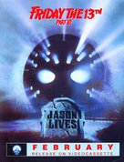 Jason Lives: Friday the 13th Part VI - Video release movie poster (xs thumbnail)