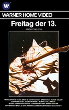 Friday the 13th - German VHS movie cover (xs thumbnail)