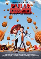 Cloudy with a Chance of Meatballs - Andorran Movie Poster (xs thumbnail)
