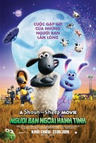 Shaun the Sheep Movie: Farmageddon - Vietnamese Movie Poster (xs thumbnail)