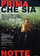 Before Night Falls - Italian Movie Poster (xs thumbnail)