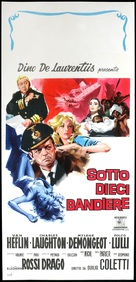 Sotto dieci bandiere - Italian Movie Poster (xs thumbnail)