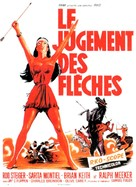 Run of the Arrow - French Movie Poster (xs thumbnail)
