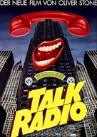 Talk Radio - German Movie Poster (xs thumbnail)
