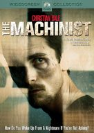 The Machinist - DVD cover (xs thumbnail)