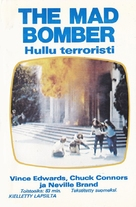 The Mad Bomber - Finnish Movie Cover (xs thumbnail)