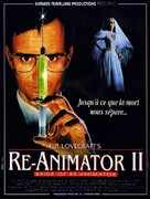 Bride of Re-Animator - French Movie Poster (xs thumbnail)