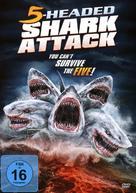 5-Headed Shark Attack - German DVD movie cover (xs thumbnail)