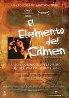 Forbrydelsens element - Spanish Movie Cover (xs thumbnail)