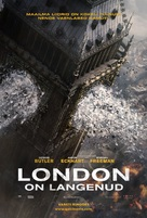 London Has Fallen - Estonian Movie Poster (xs thumbnail)