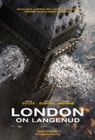 London Has Fallen - Estonian Movie Poster (xs thumbnail)