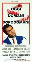 Oggi, domani, dopodomani - Italian Movie Poster (xs thumbnail)