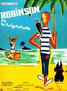 Robinson et le triporteur - French Movie Poster (xs thumbnail)