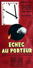 Échec au porteur - French Movie Poster (xs thumbnail)