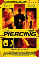 Piercing - British Movie Poster (xs thumbnail)