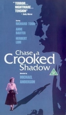 Chase a Crooked Shadow - British VHS movie cover (xs thumbnail)
