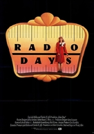 Radio Days - German Movie Poster (xs thumbnail)