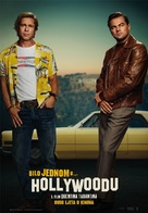 Once Upon a Time in Hollywood - Croatian Movie Poster (xs thumbnail)