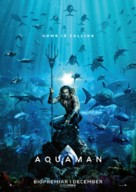 Aquaman - Swedish Movie Poster (xs thumbnail)
