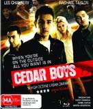 Cedar Boys - Australian Blu-Ray cover (xs thumbnail)